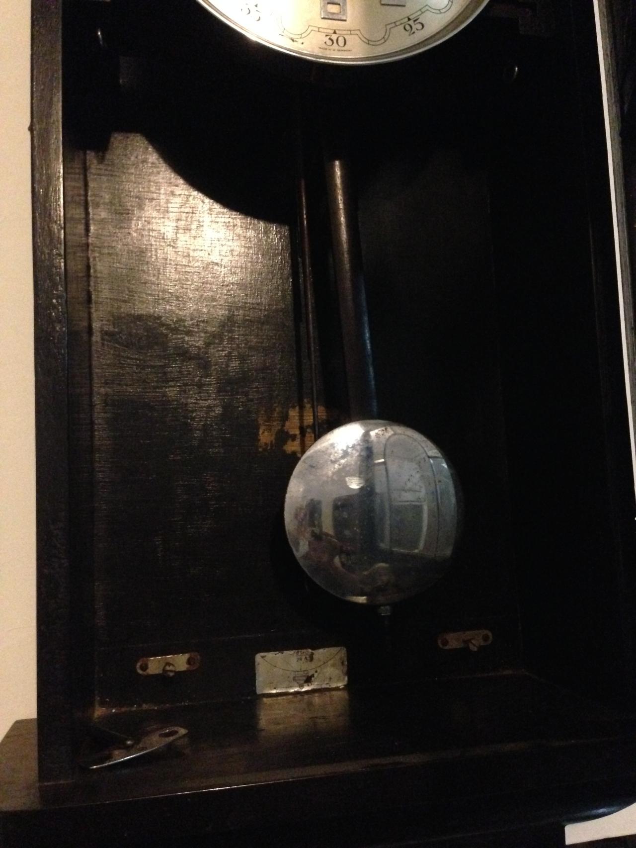 Jam Dinding Junghans Westminster de Luxe  6049945860